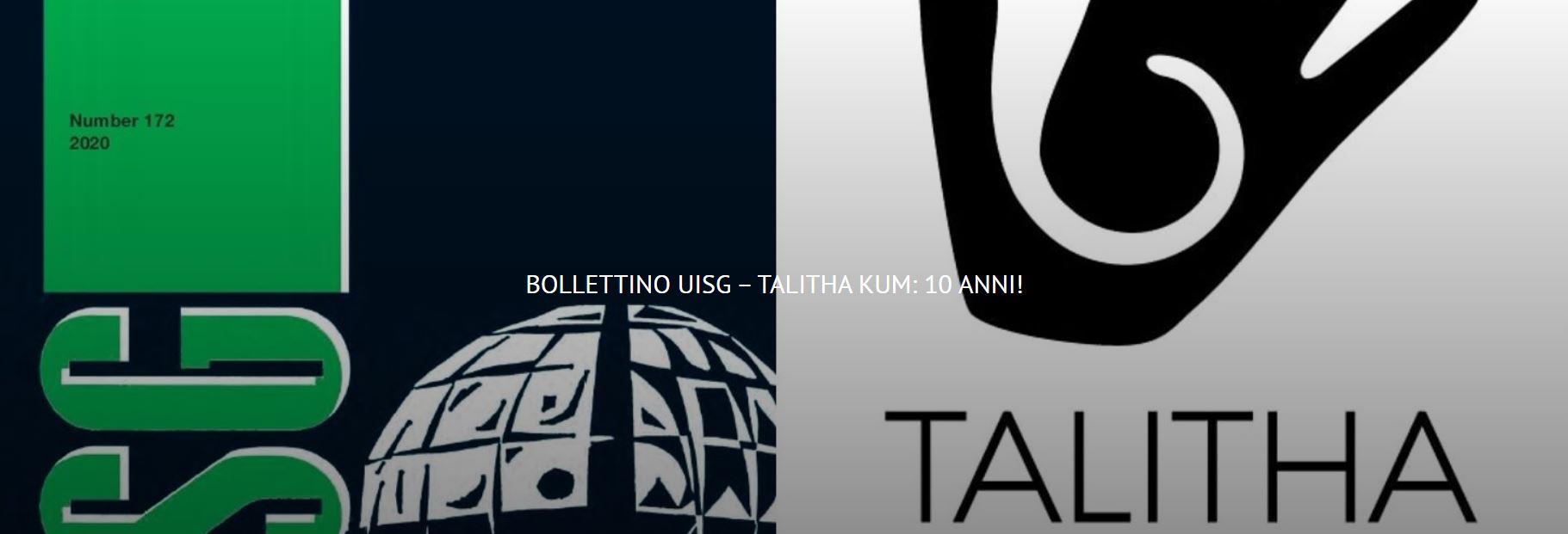 BOLLETTINO UISG – TALITHA KUM: 10 ANNI!